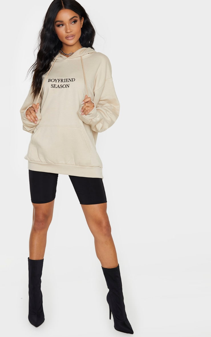 Sand Boyfriend Season Embroidered Hoodie 4