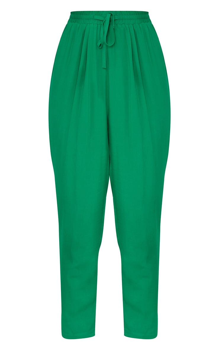 Bright Green Casual Trousers 3
