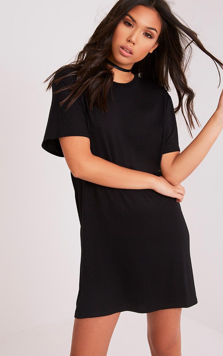 California Gothic Print T-Shirt Dress 4