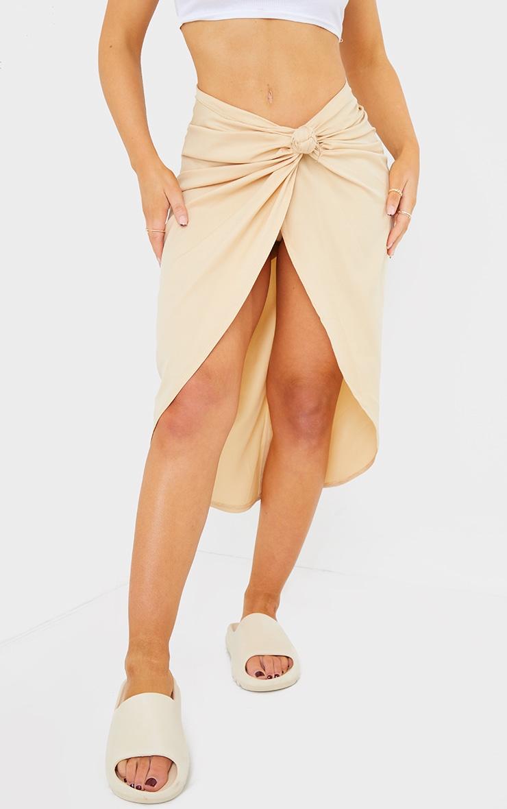 Stone Sarong Midi Skirt 2