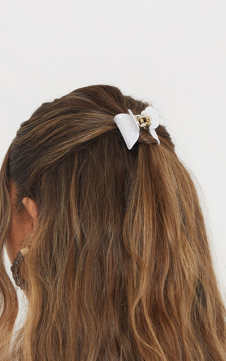Marble 2 Pack Mini Hair Clips 1
