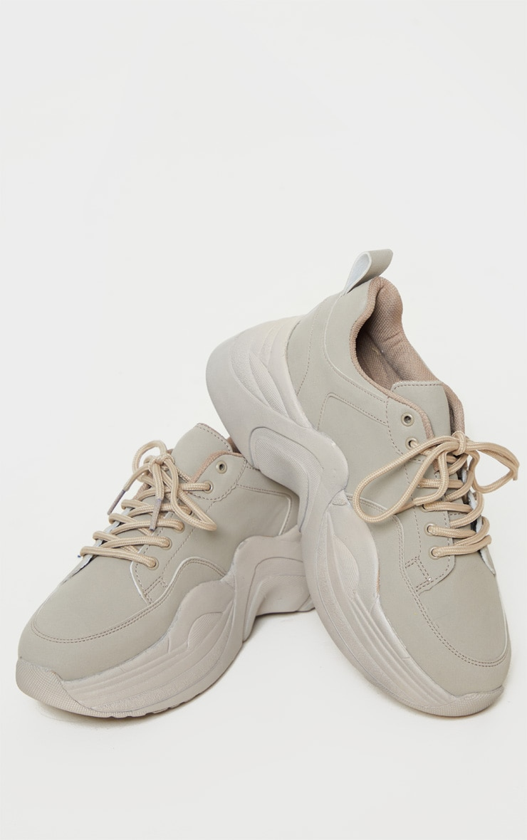 Sand Extreme Platform Sole Chunky Sneaker 3