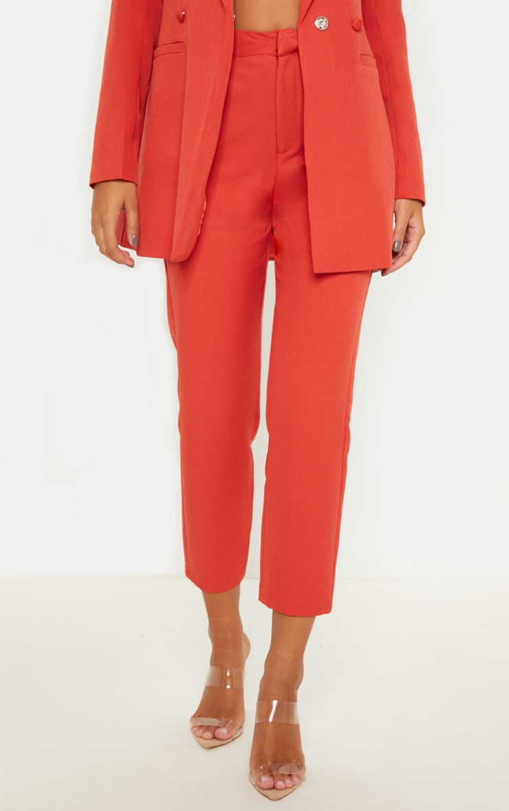 Rust Cropped Trouser 2