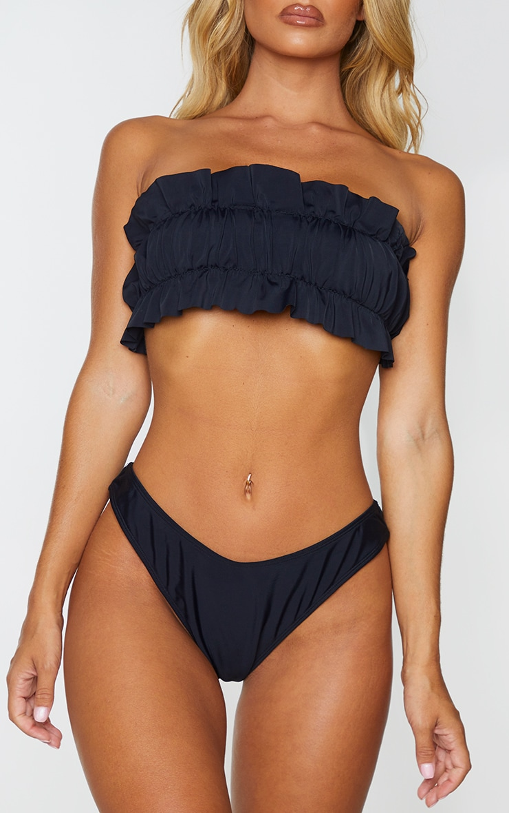 Black Brazillian Bikini Knickers 1