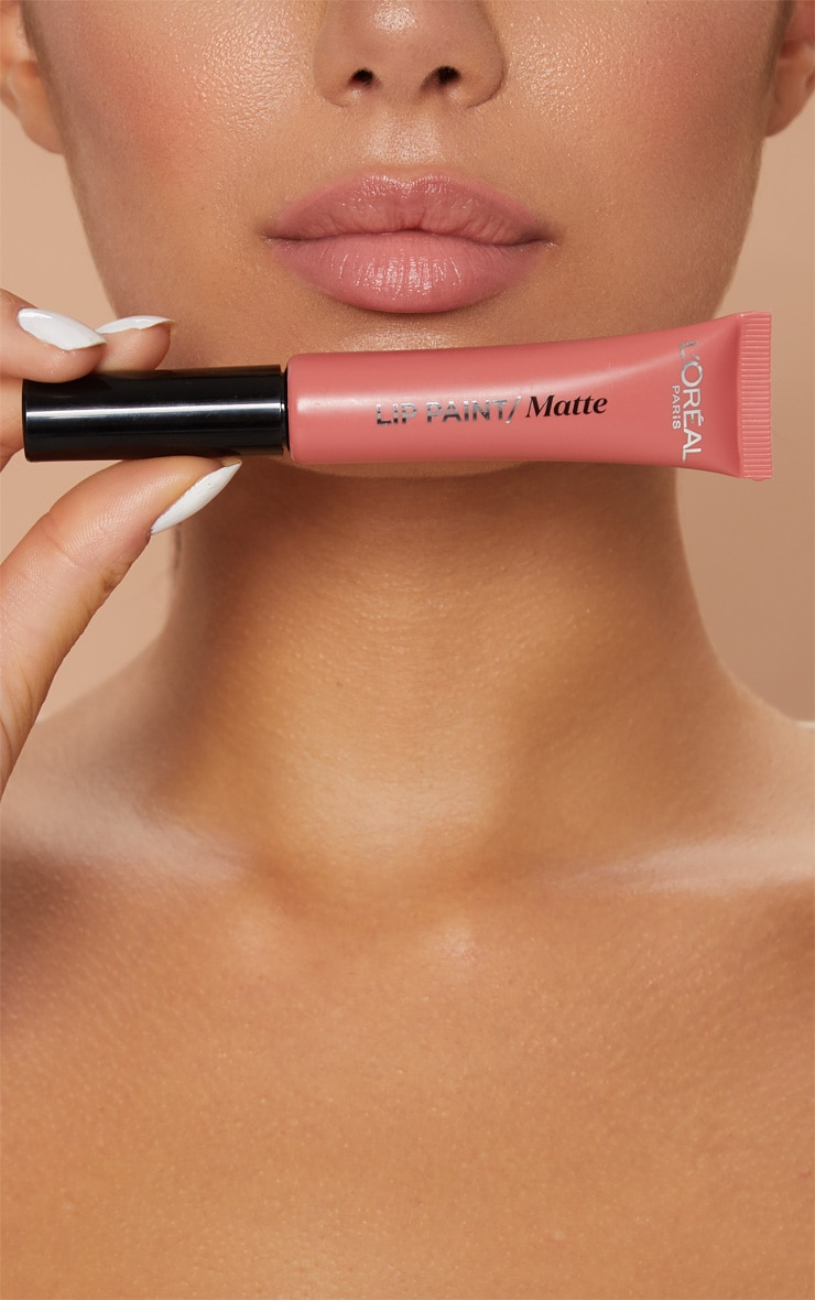 L'Oréal Paris Infallible Nudist Matte Lip Paint 201 Hollywood Beige