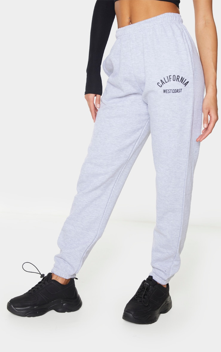 Grey Marl California Casual Jogger 2