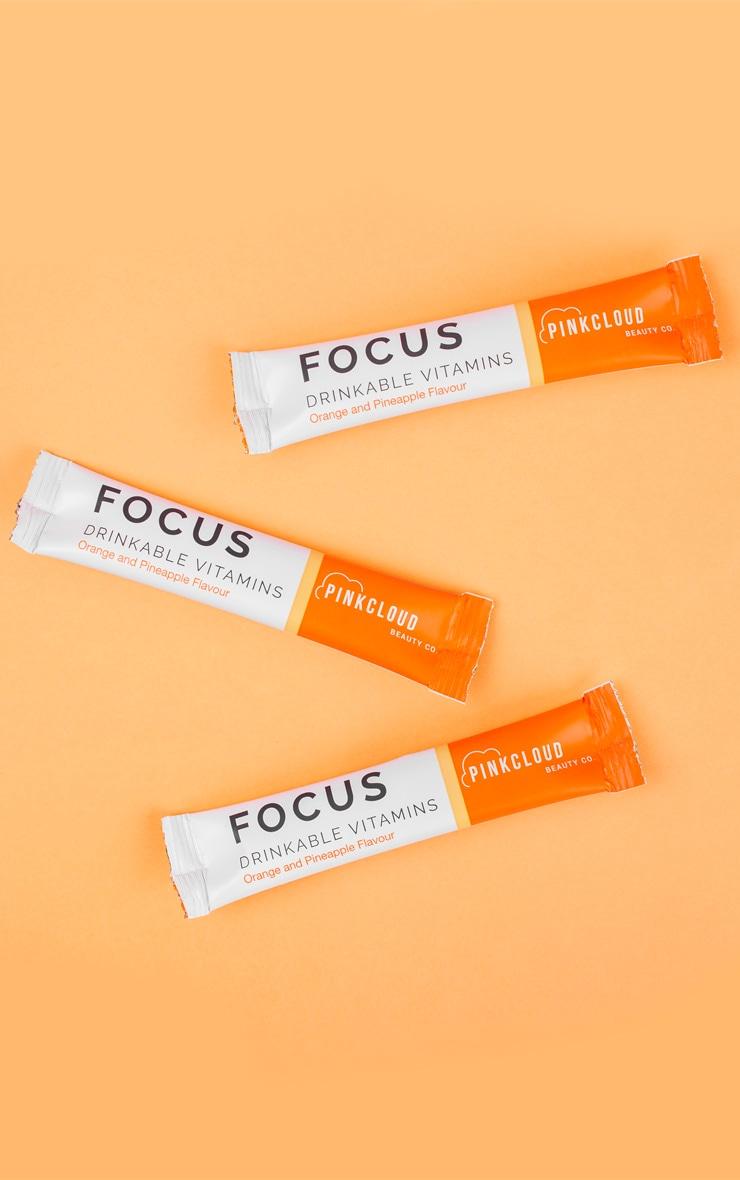 Pink Cloud Focus Drinkable Vitamins 7 Pack 2
