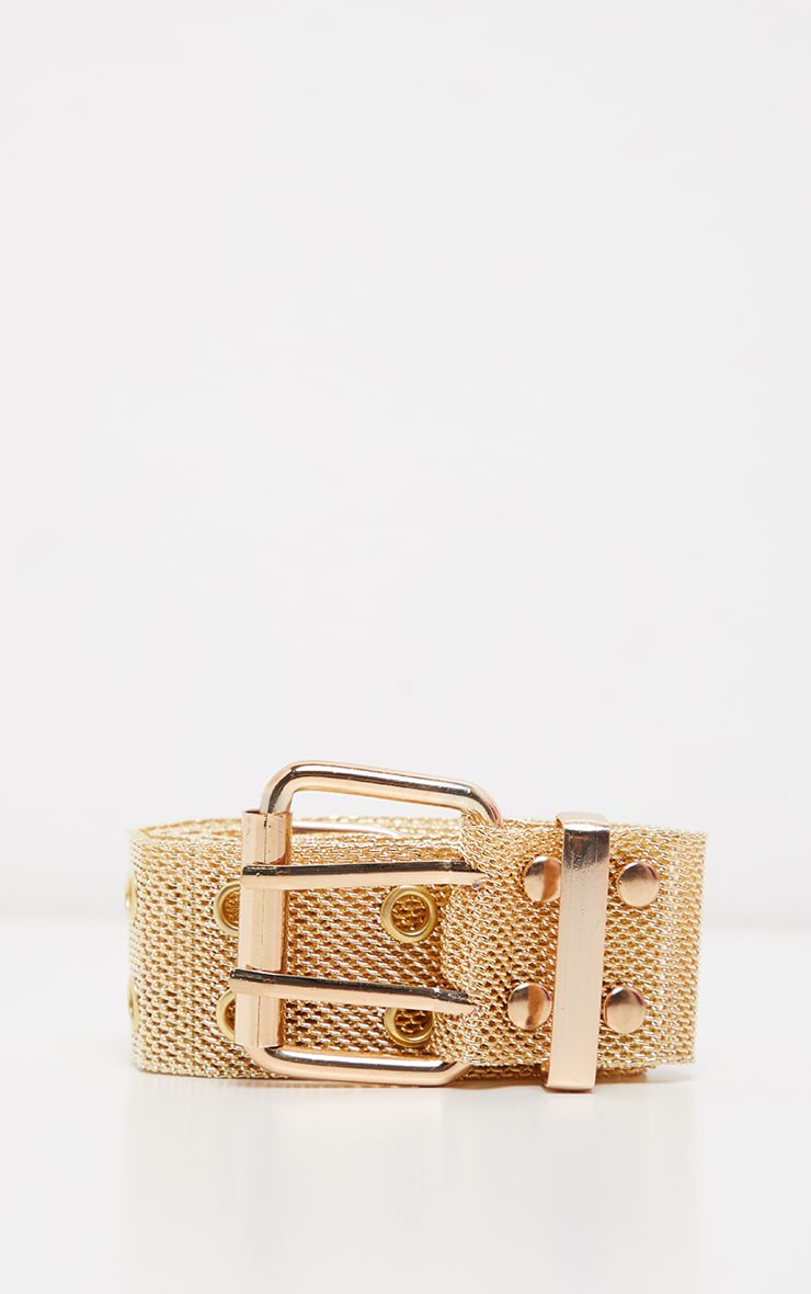 Gold Chainmail Waist Belt 2