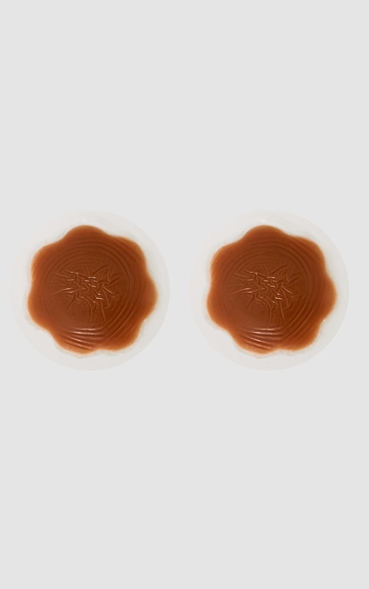 Cache-tétons moyens en silicone 2