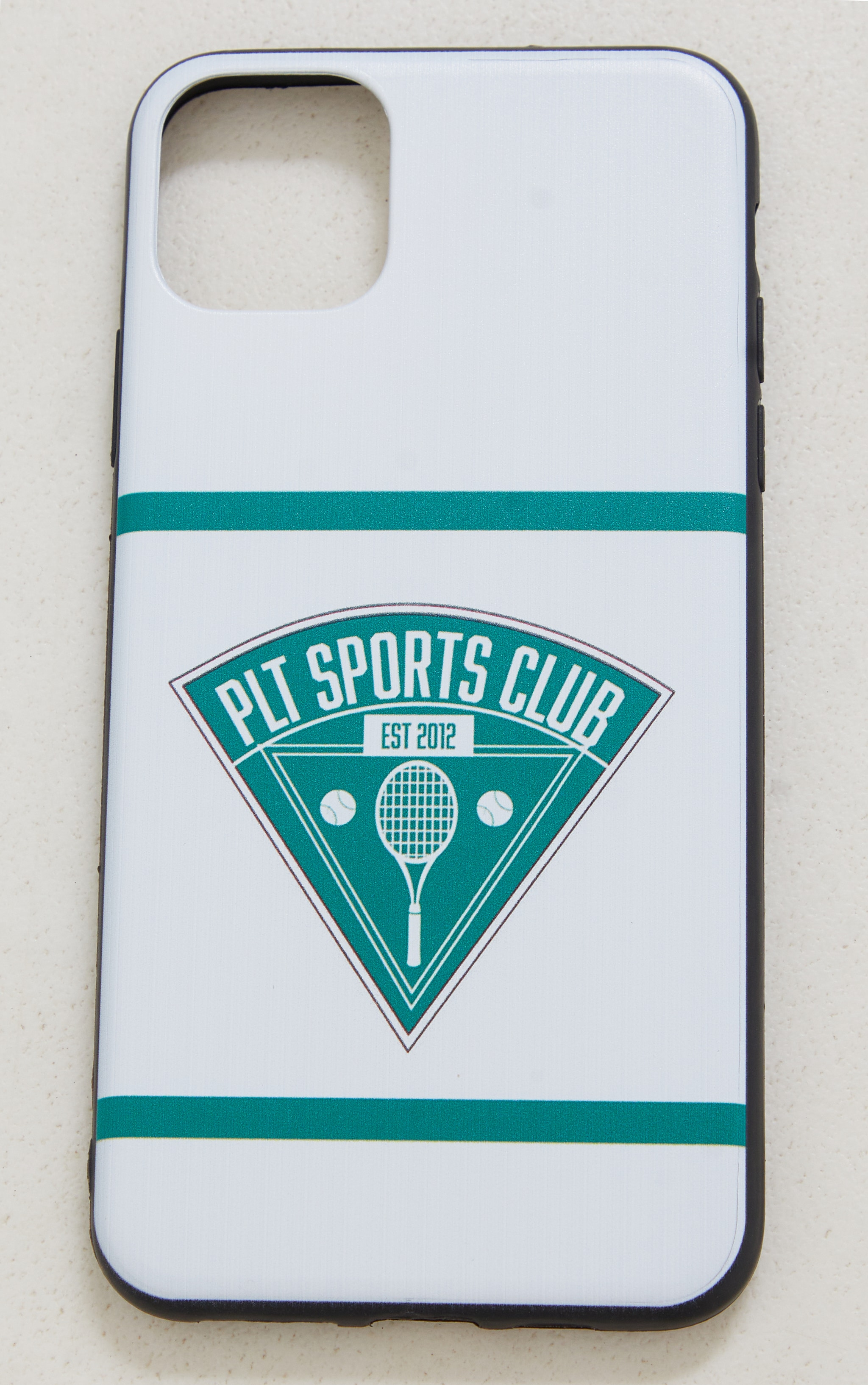 PRETTYLITTLETHING White Tennis Club Iphone XS MAX/11 Pro Max Case 3