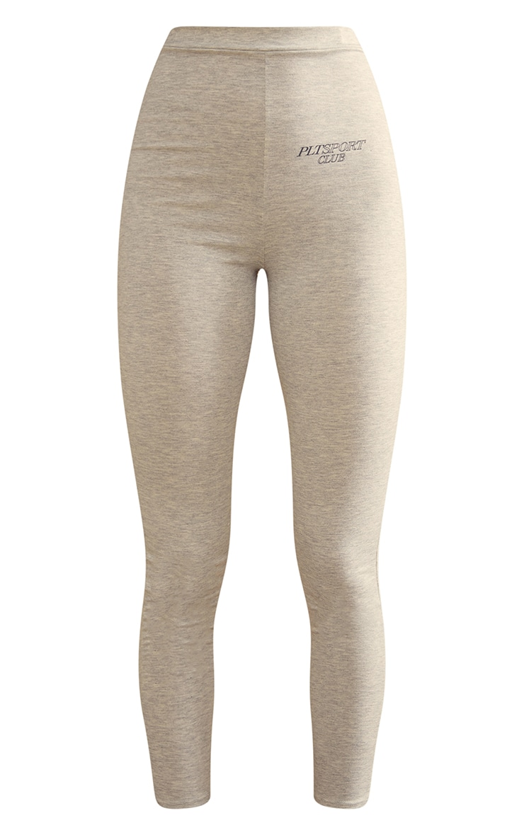 Grey Soft Yoga Leggings 5