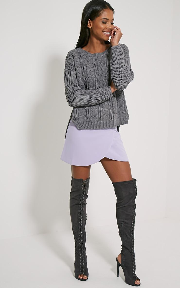 Jada Grey Knitted Jumper 3
