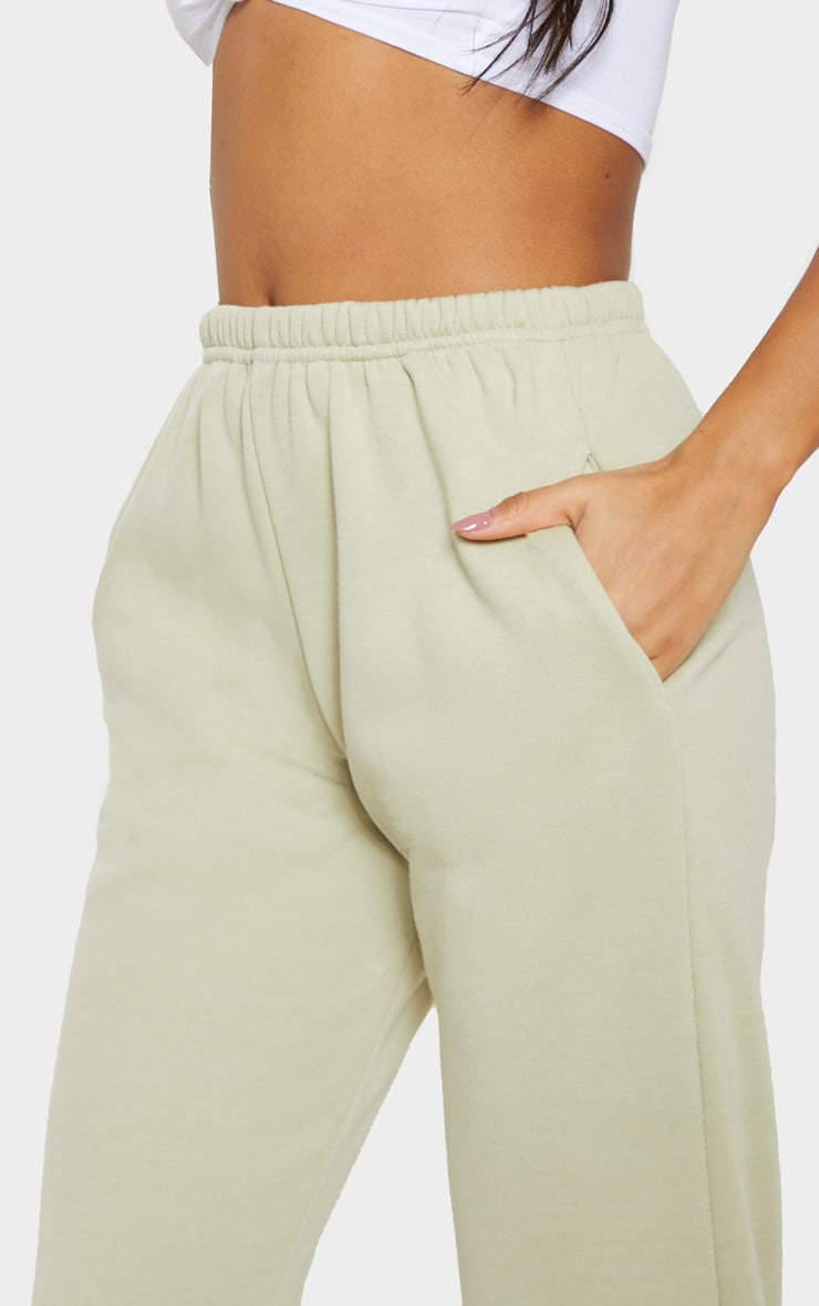 Pale Olive Casual Jogger 5