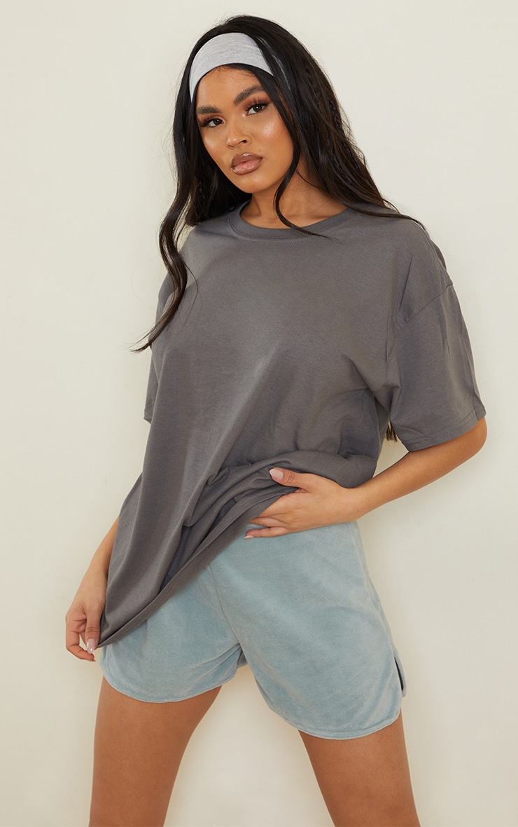Charcoal Boyfriend T Shirt