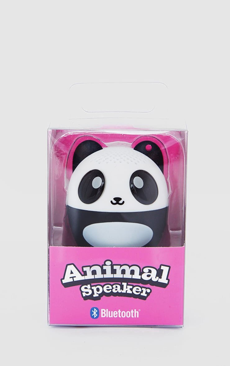 Black Mini Panda Speaker 2