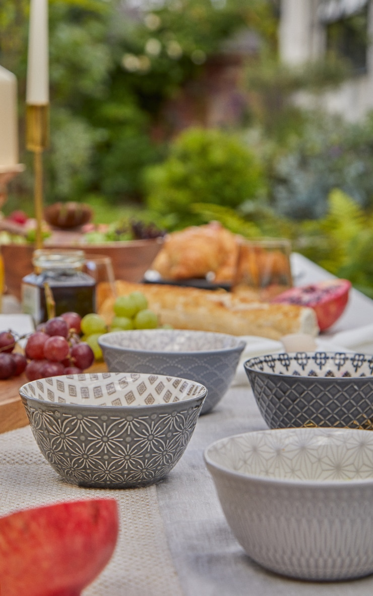 Grey Dip Bowls Set Of 4 1