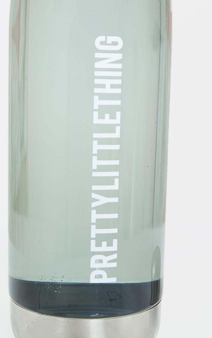 PRETTYLITTLETHING Smoke Glass Water Bottle 3