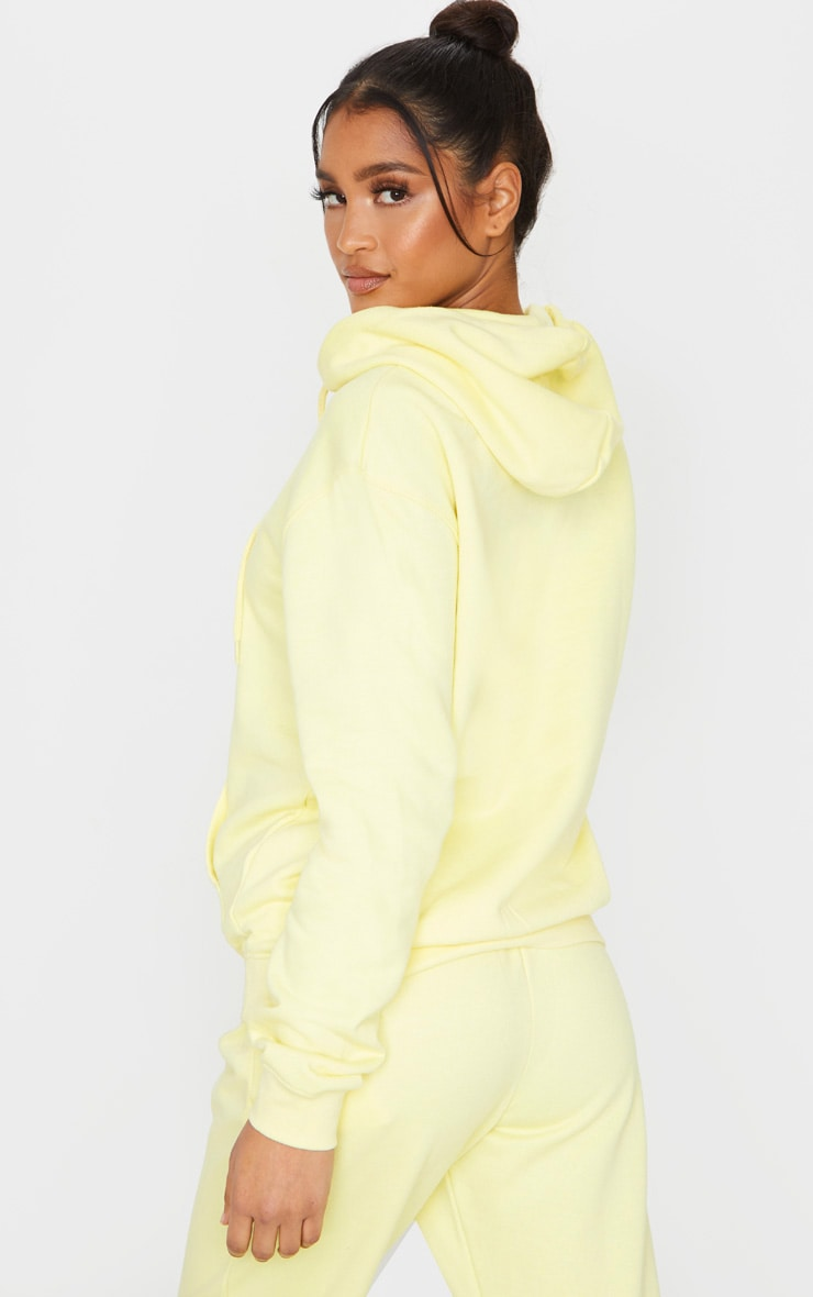 Pale Lime Ultimate Oversized Hoodie 2