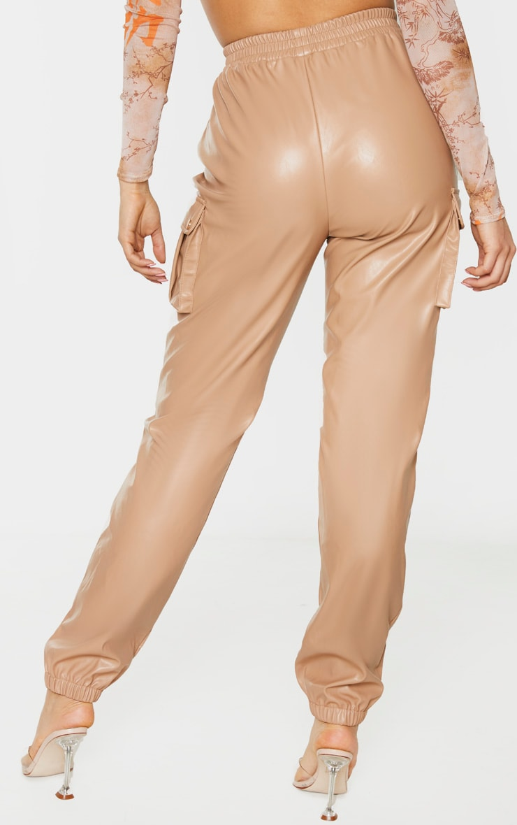 Tall Stone Faux Leather Pocket Detail Jogger 2