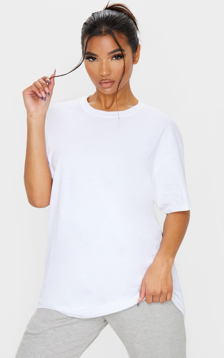Ultimate White Oversized T Shirt 1