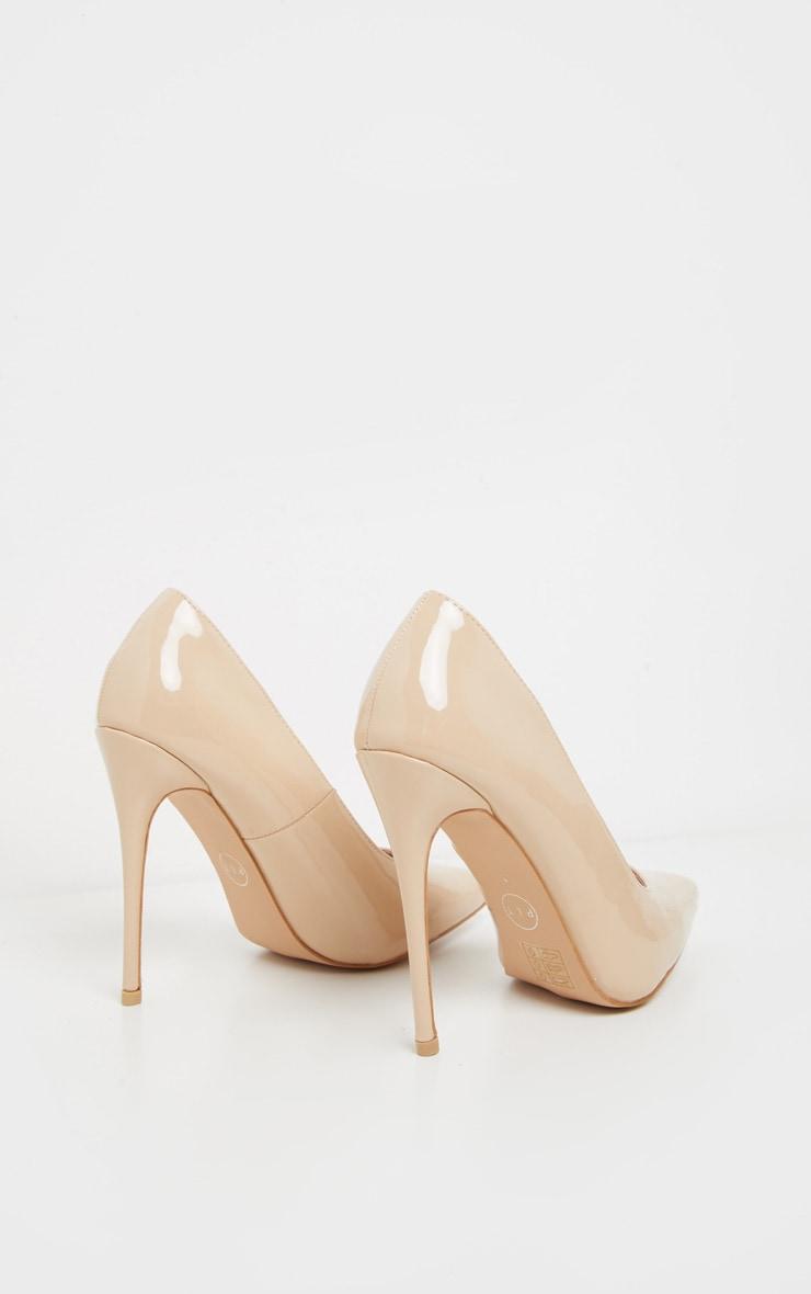 Pale Nude Court Shoe 4
