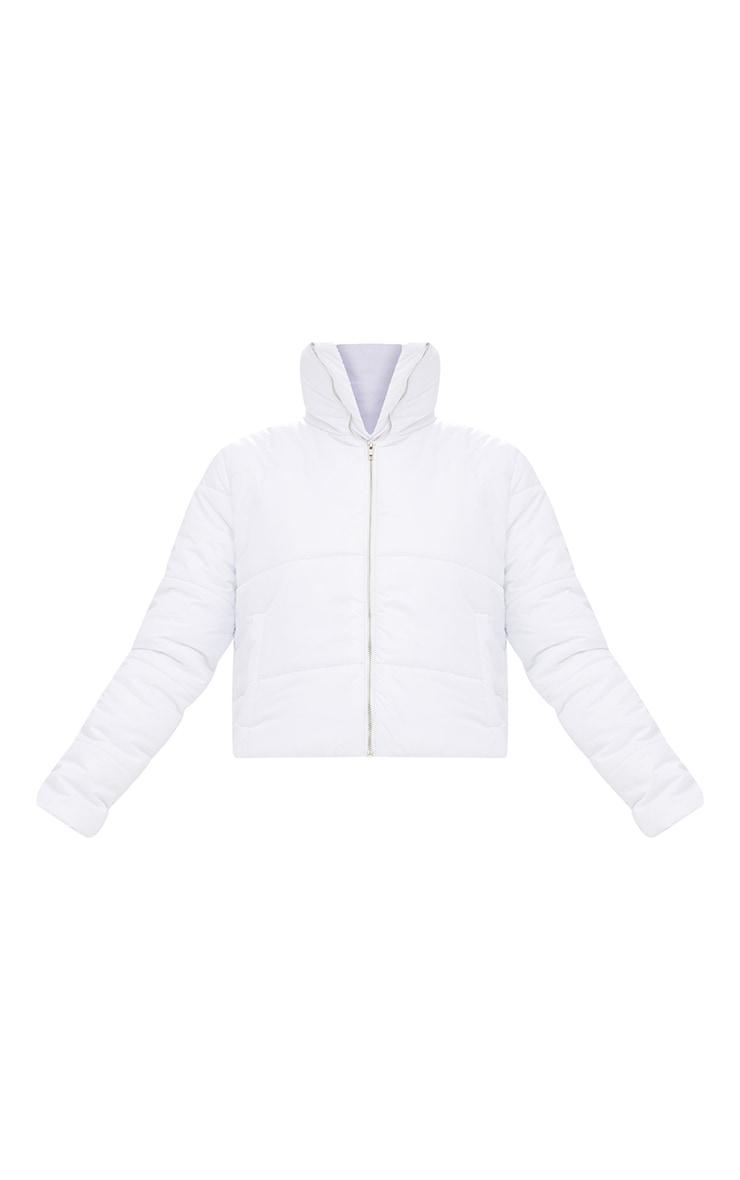 White Puffer Jacket 3