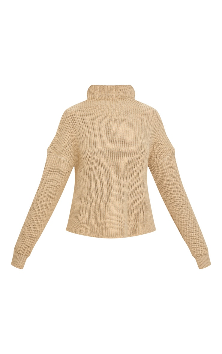 Stone High Neck Sweater 3