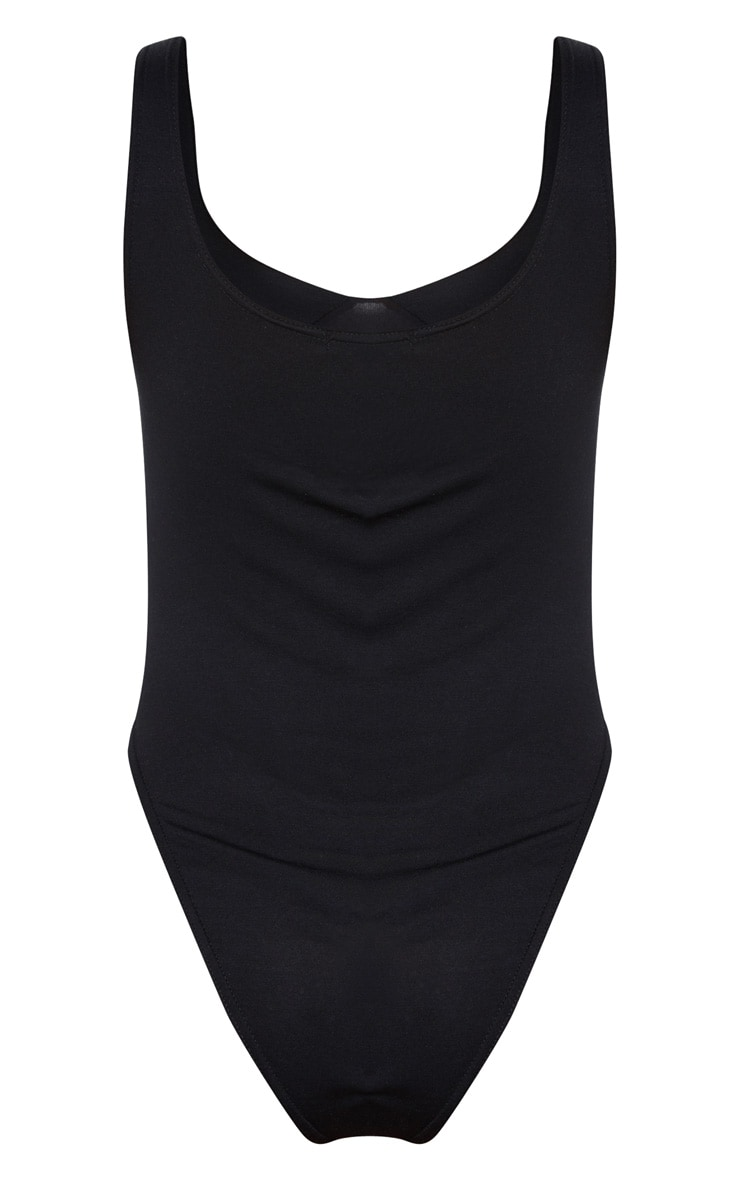 Black Cupped Jersey Body 4