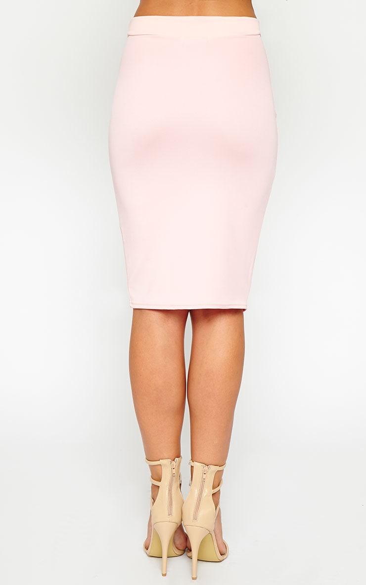 Janine Pink Midi Skirt 4
