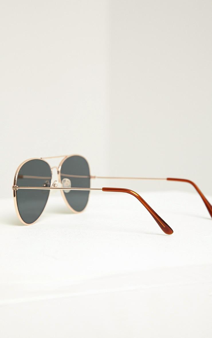Tresa Red Lense Aviator Sunglasses 2