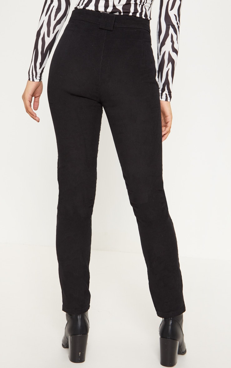 Tall Black Corduroy Pants 3