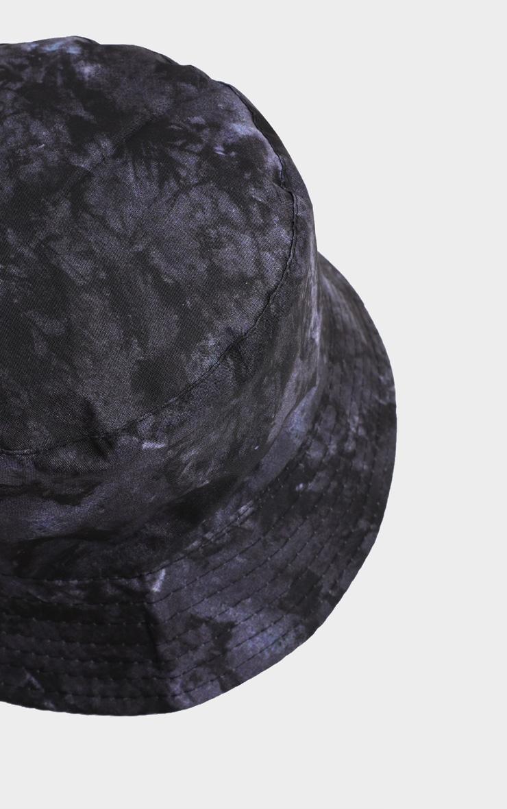 Black Tie Die Bucket Hat   3