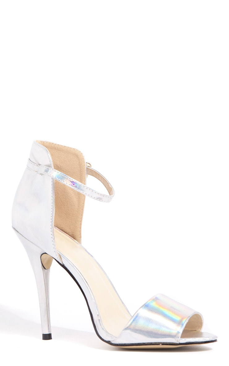 Luna Hologram Stiletto Sandals 3