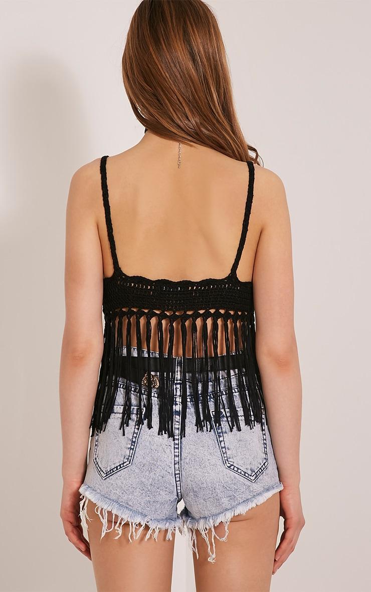 April Black Crochet Bralet 2