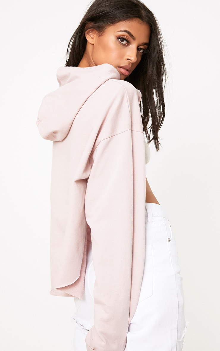 Juliane Lilac Extreme Open Front Hoodie 2