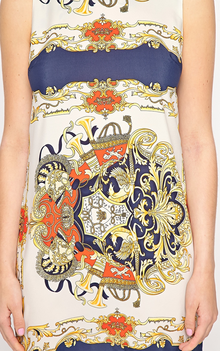 Margot Regal Print Shift Dress 4