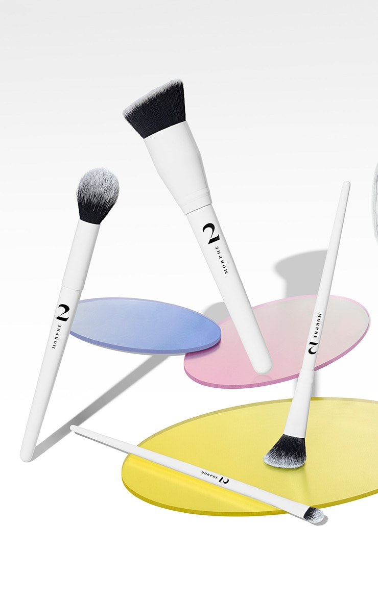 Morphe 2 The Sweep Life 4-Piece Brush Collection + Bag 3