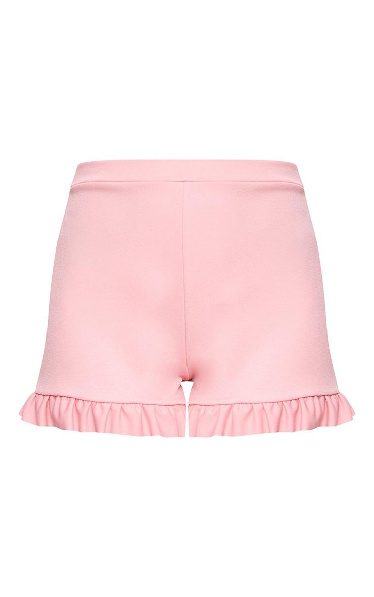 Rose Frill Hem Shorts  3