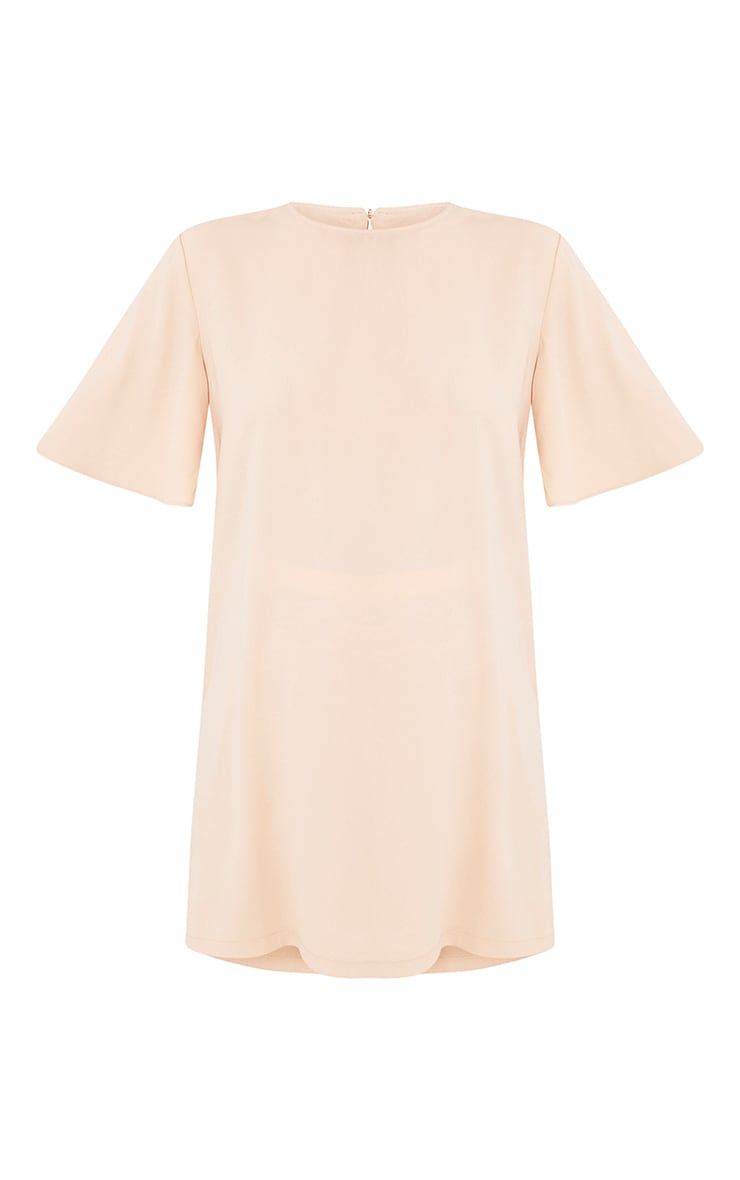 Ashanti Nude Short Sleeve Shift Dress 3