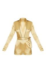 4aced9368c Alisha Gold Pyjama Style Playsuit image 3