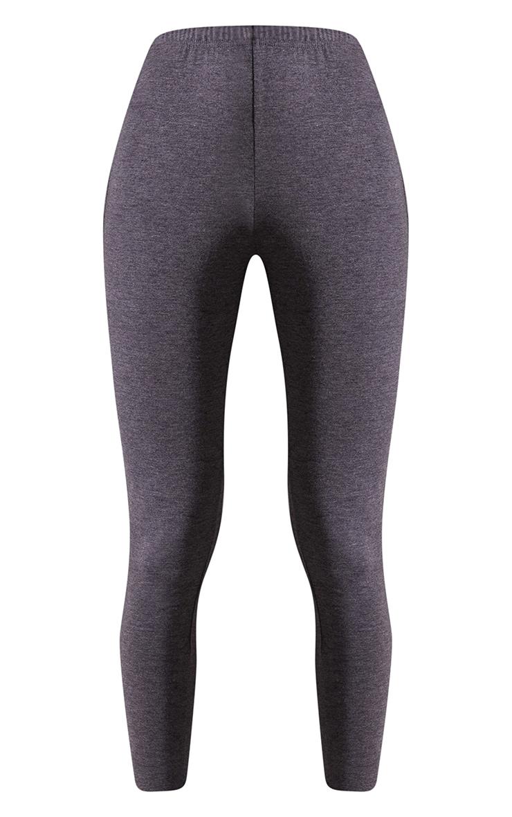 Charcoal Basic Leggings 5