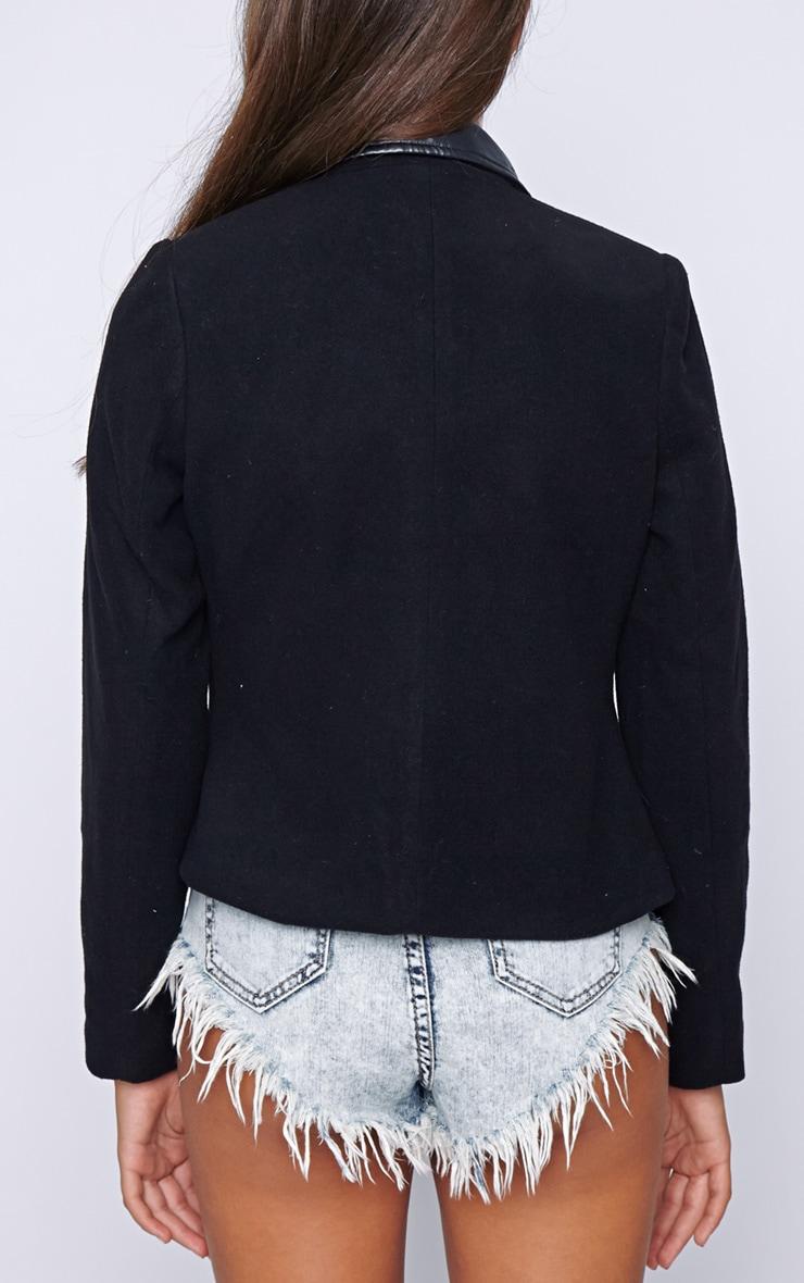 Jessica Black Biker Jacket 2