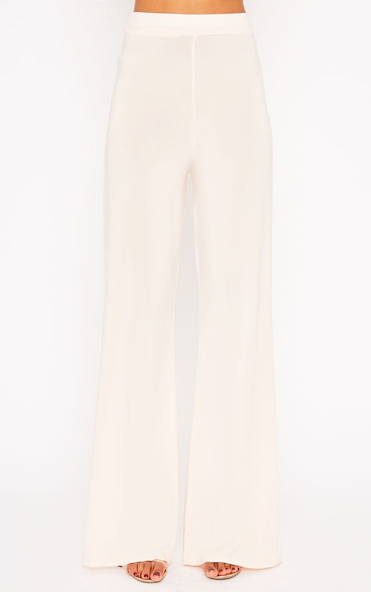 Remi Nude Soft Touch Wide Leg Trousers 2