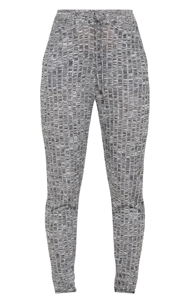 Grey Marl Mix & Match Lounge Trousers 3