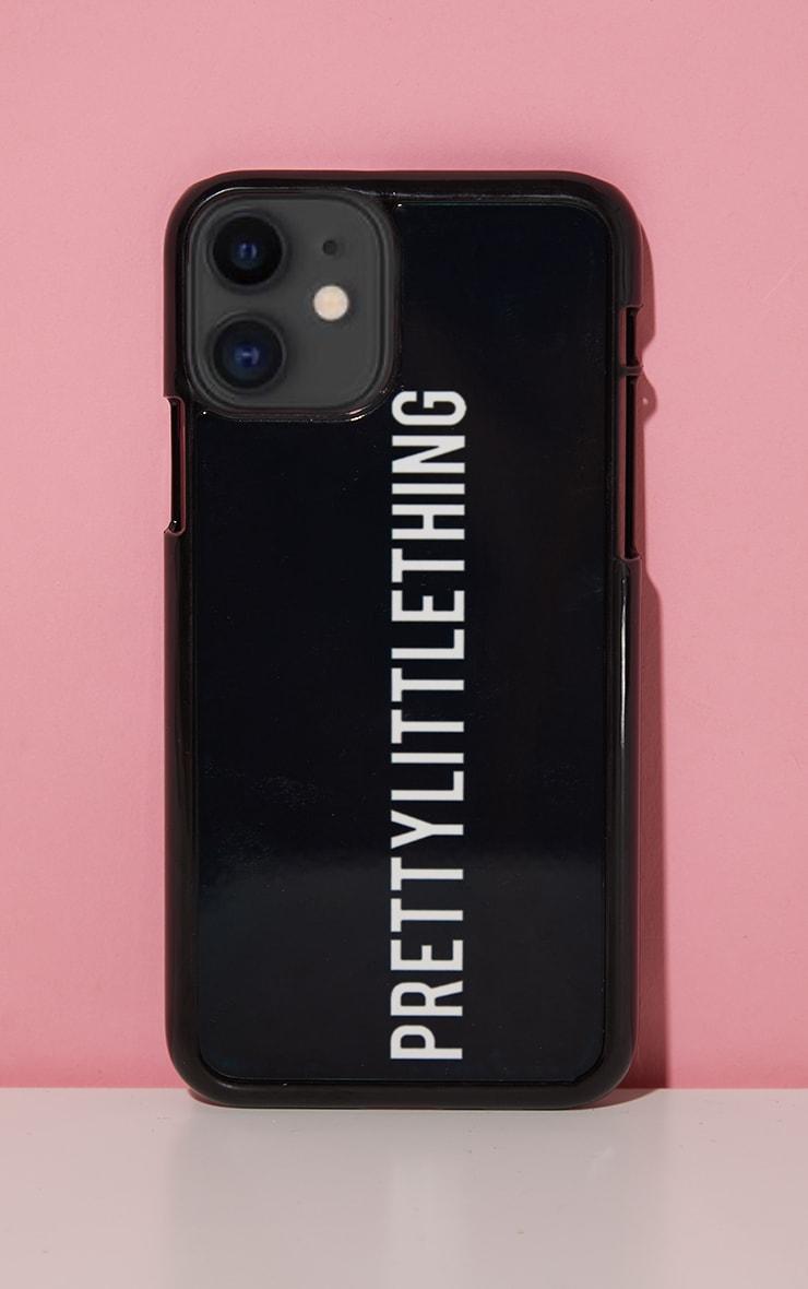 PRETTYLITTLETHING Black Logo 11 Pro iPhone Phone Case 1