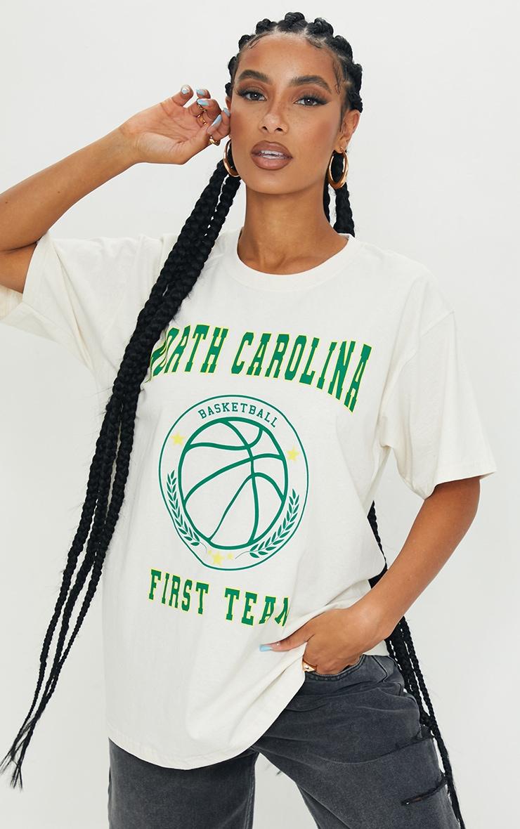 Sand North Carolina First Team Print T Shirt 1