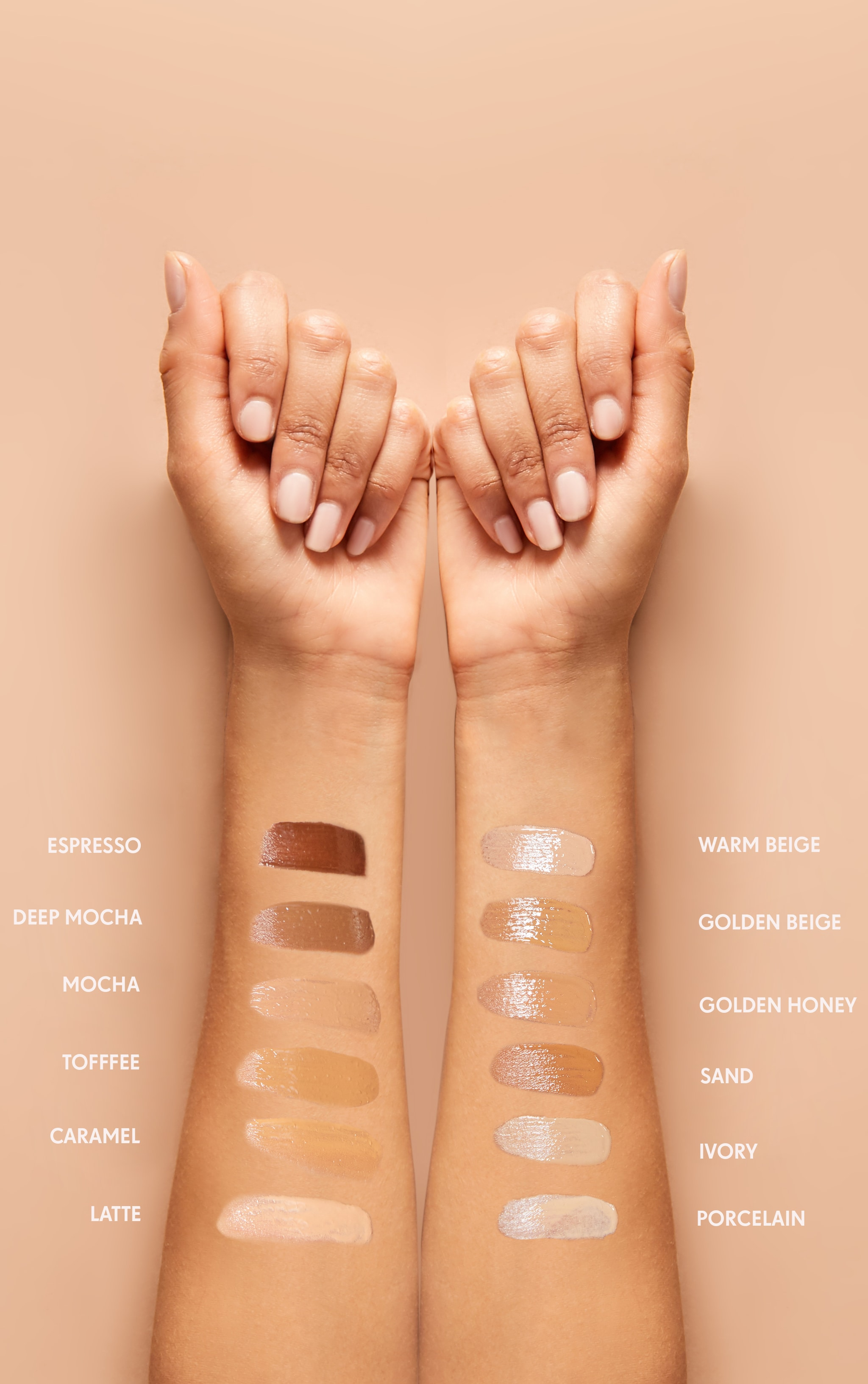 PRETTYLITTLETHING Photo Finish Warm Beige Foundation  3