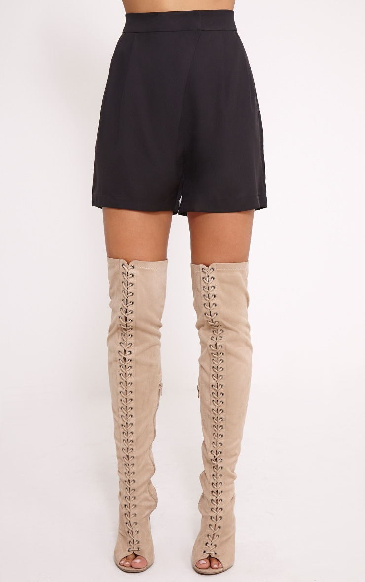 Patricia Black Loose Fit Tailored Shorts 2