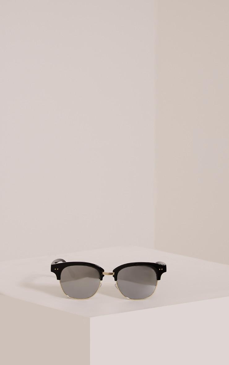 Kaisa Silver Lense Retro Sunglasses 3