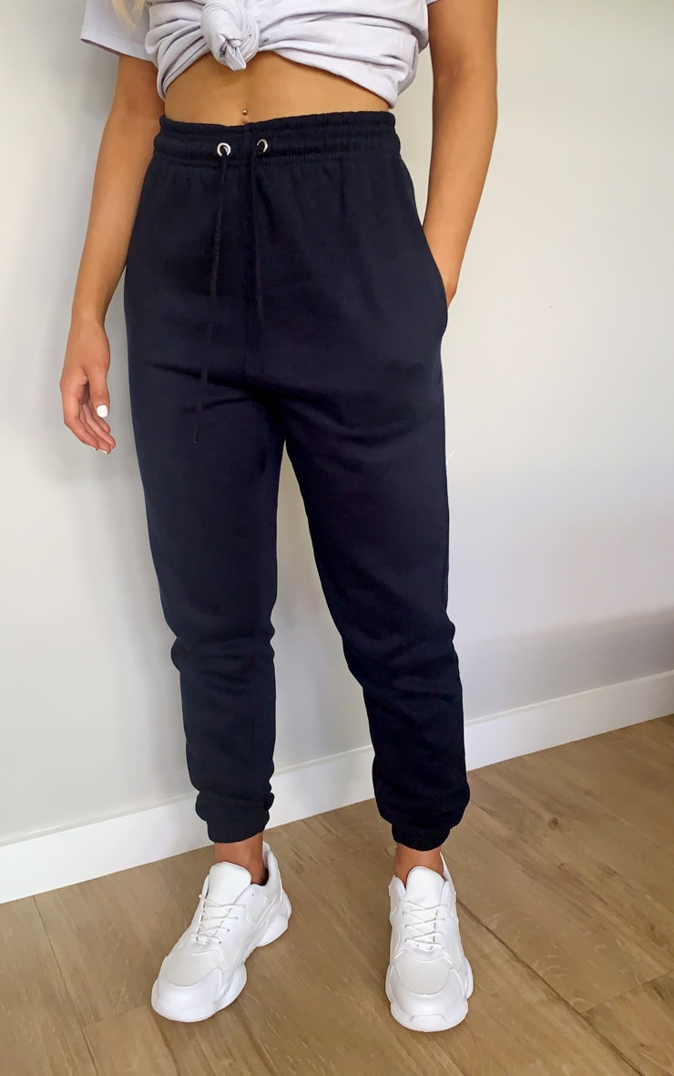 Navy '90s Sweatpants 2